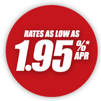 rates as low as 1.95% APR