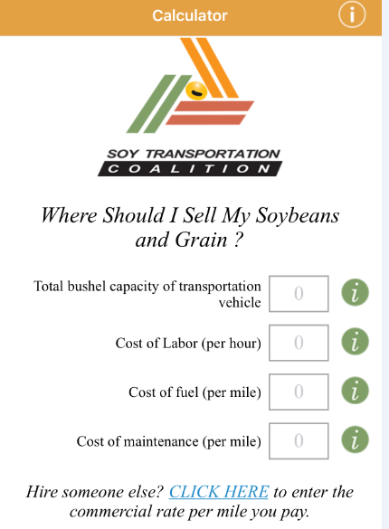 Soy Transportation Cost Calculator