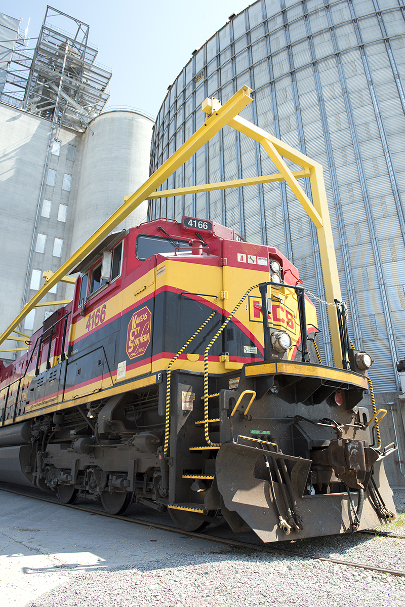Rail transportation companies provide essential service to soybean growers