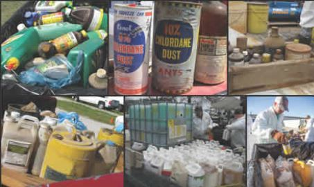 Opportunity to dispose of unused pesticides and herbicides