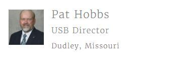 Pat Hobbs, newest United Soybean Board Director