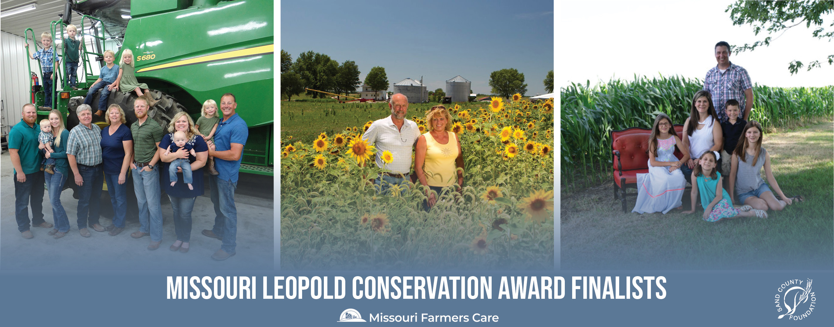 Three Leopold finalists are conservation practice early adopters