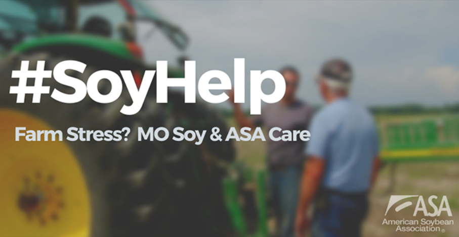 #SoyHelp campaign offers support to stressed farmers