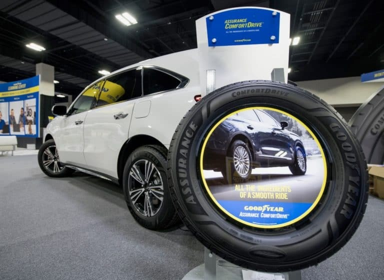 Goodyear develops line of soy-based tires