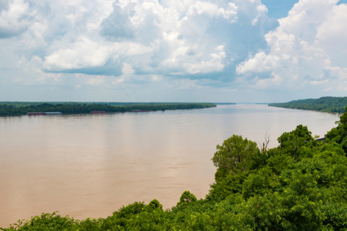 Lower Mississippi dredging has positive impact