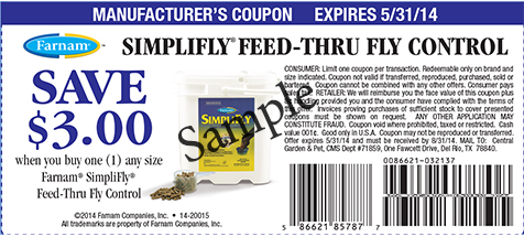 Save $3.00 on Simplifly Feed