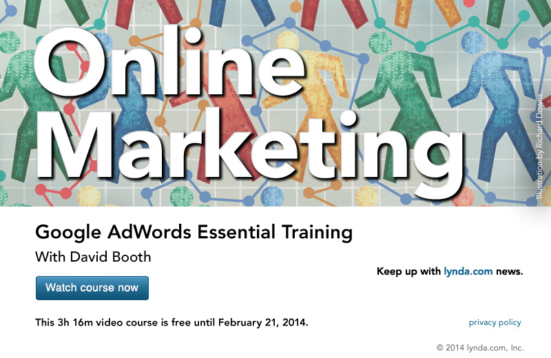 "lynda.com 免费课程 Google AdWords Essential Training丨""反""斗限免"