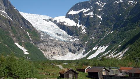 Glacier tour Fjærland