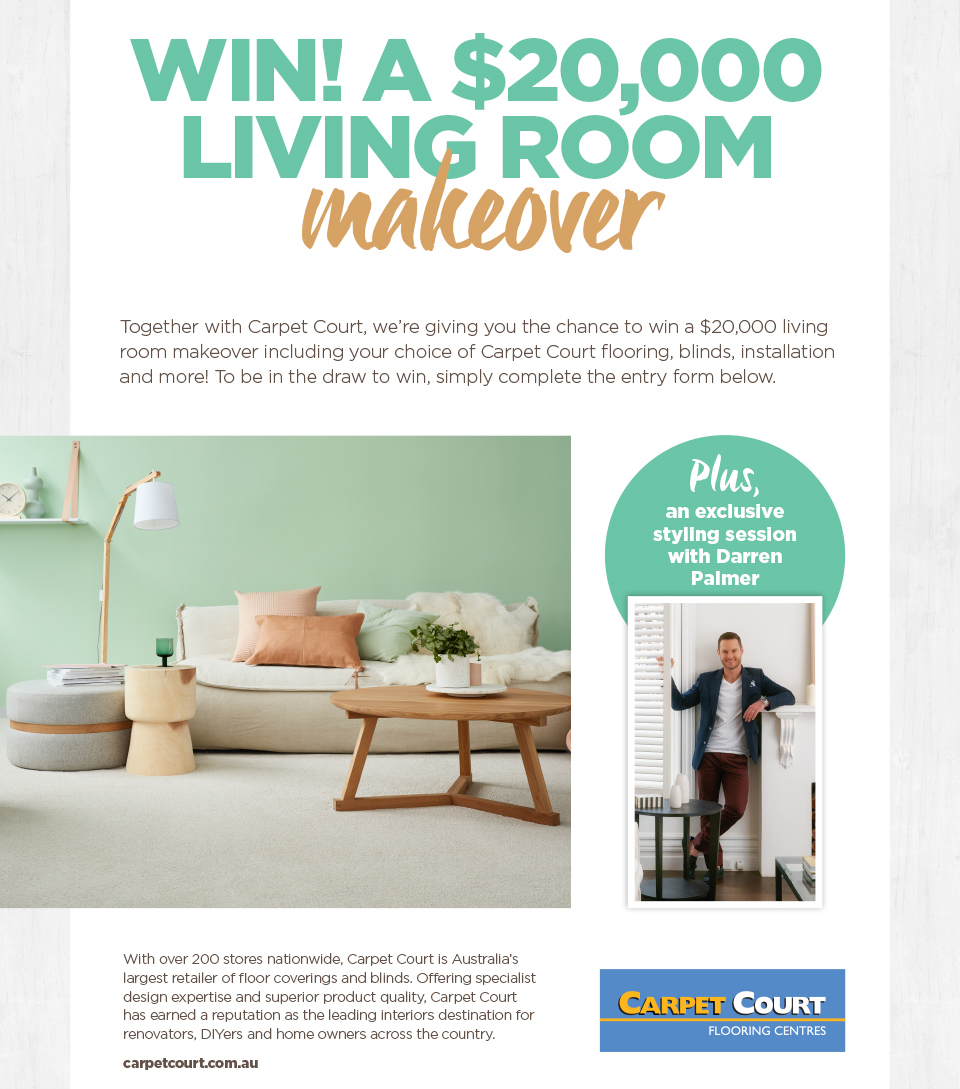 Better Homes And Gardens: Win A $20,000 Living Room Makeover  CLOSES 5.00PM Part 69