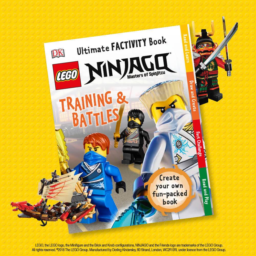 LEGO Ninjago, Training & Battles