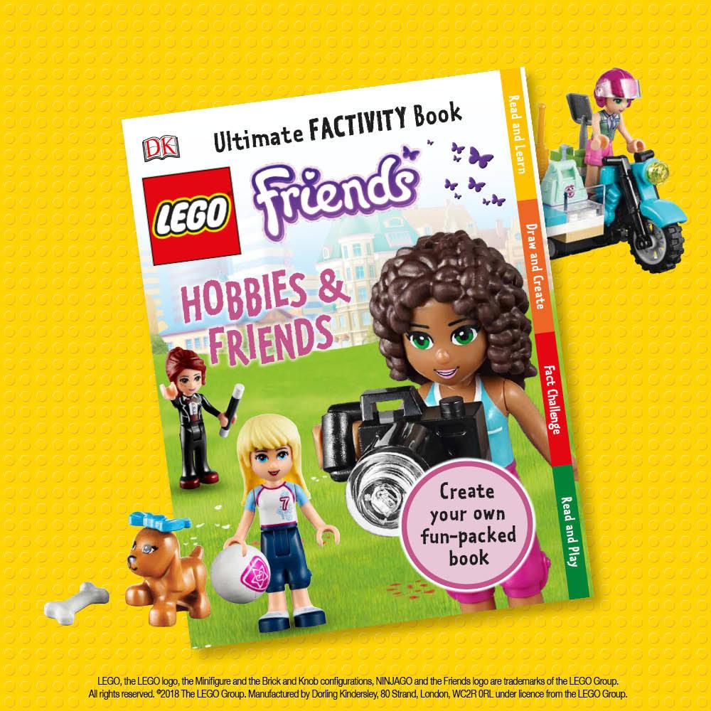LEGO Friends, Hobbies & Friends