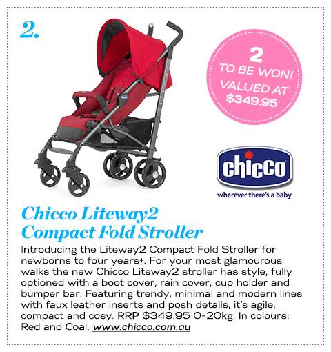 2 Chicco Liteway2 Stroller
