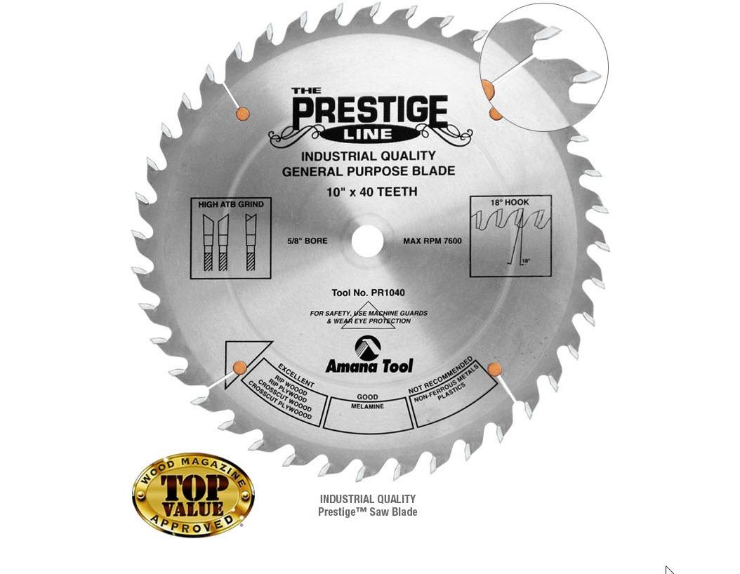 Prestige Saw Blade