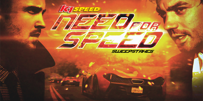 Need for Speed Sweepstakes!