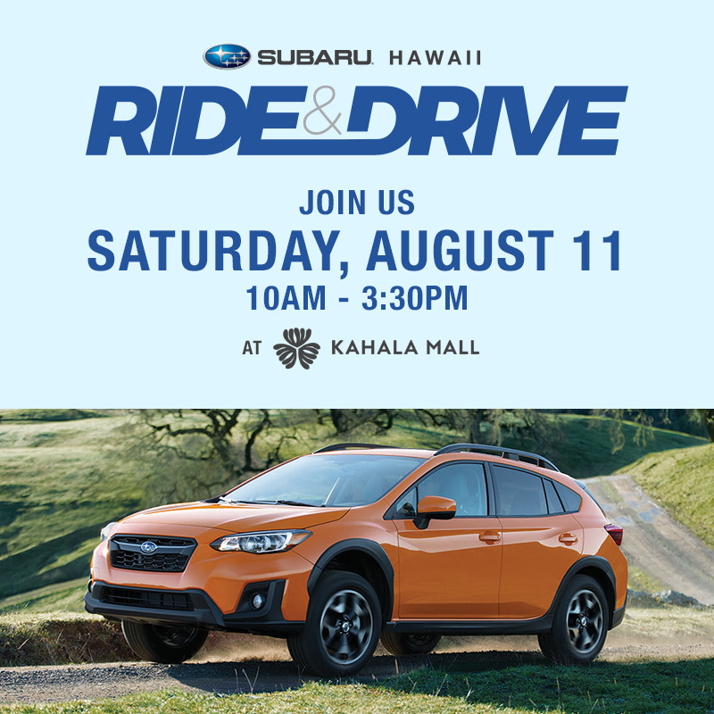 Subaru Hawaii Ride and Drive Event