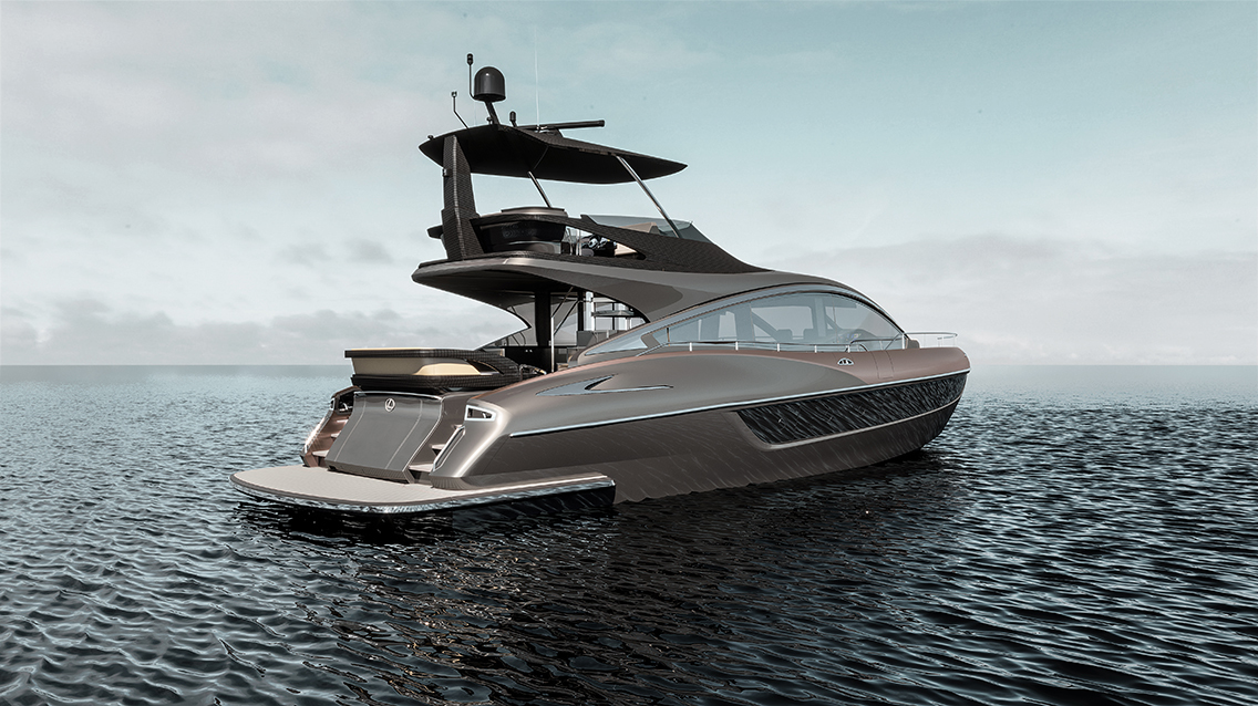 Lexus LY 650 Yacht Stern
