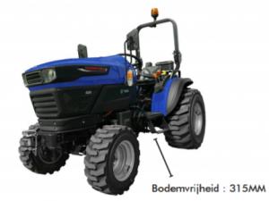 Farmtrac 20E volledig elektrische compact tractor - Hermans Company BVBA