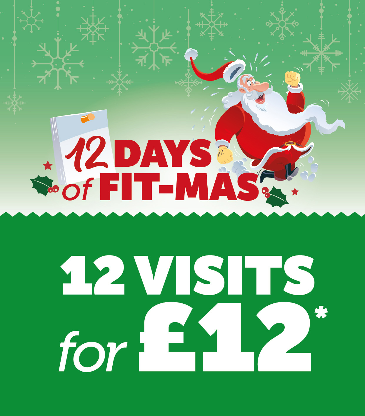 12 days of fit-mas 12 days for £12