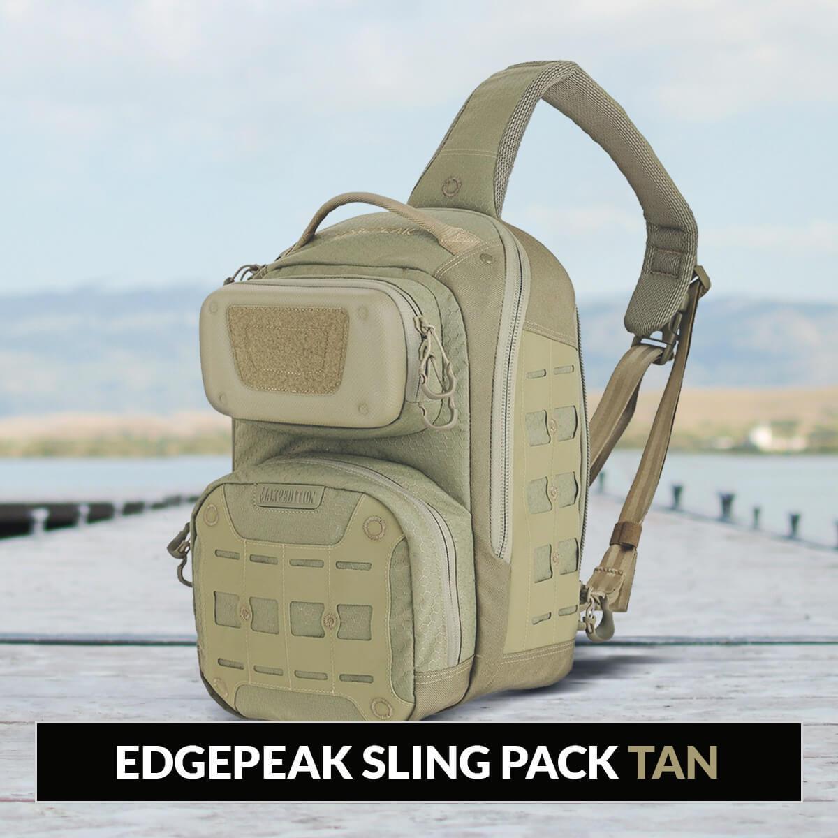 Edgepeak Sling Pack Tan