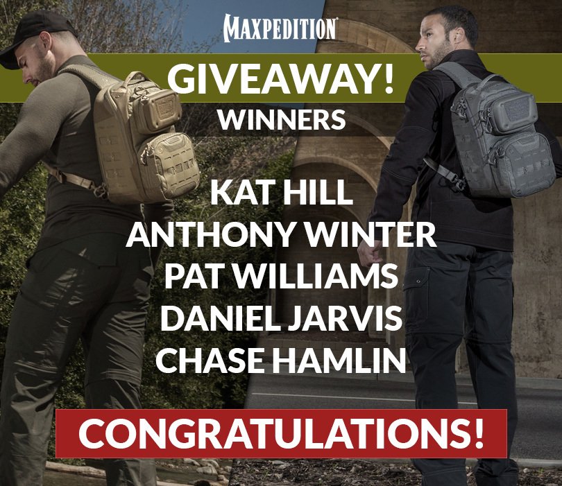 Maxpedition Giveaway