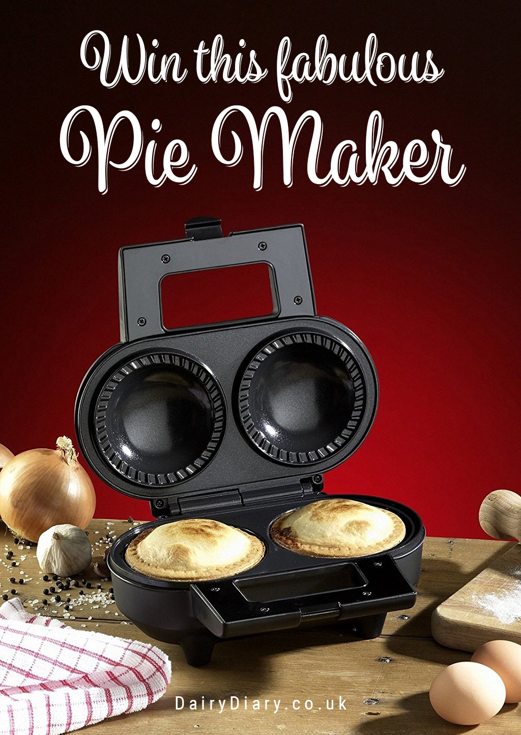 Win a Pie Maker with the Dairy Diary