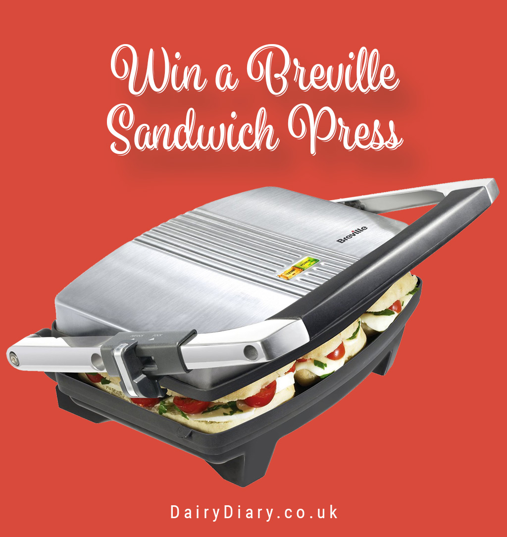 Win a Breville Sandwich Press with the Dairy Diary