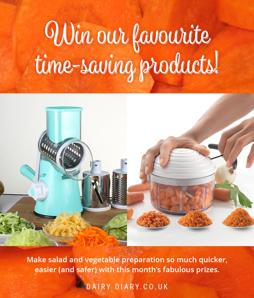 Dairy Diary gives you the chance to win our favourite time saving gadgets.