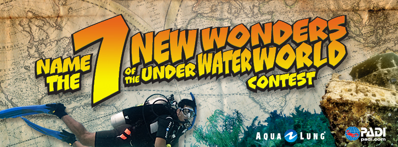 PADI '7 New Wonders of the Underwater World Facebook Contest'