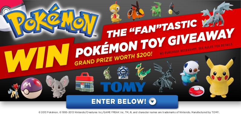 Pokemon May Giveaway