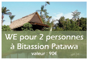 4ème lot : WE en couple à Bitassion Patawa
