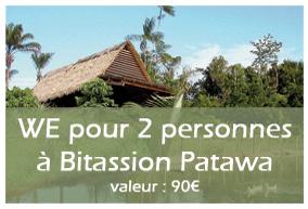 4ème lot : WE en couple à Bitassion Patawa