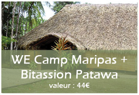 5ème lot : WE au Camp des Maripas + WE à Bitassion Patawa