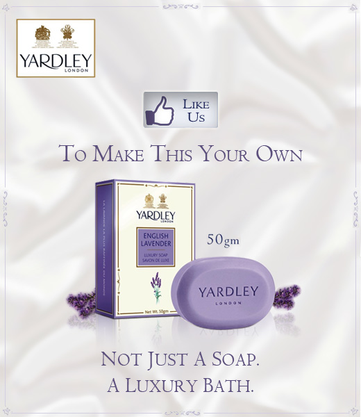 FREE Sample of Lavender Soaps from Yardley London