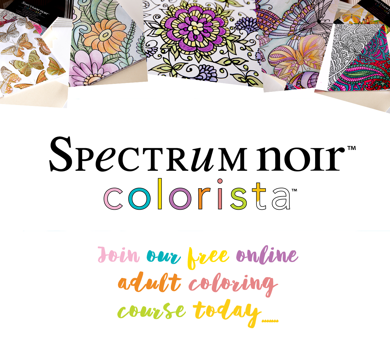 Sign up for our FREE Online Coloring Course!