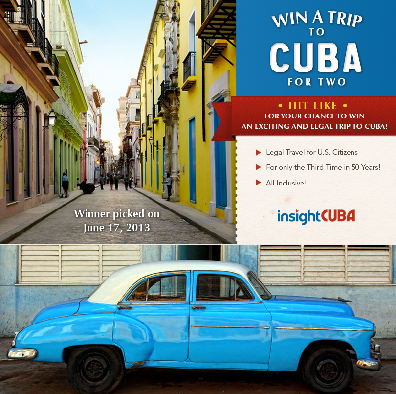 Win a Trip to Cuba for Two