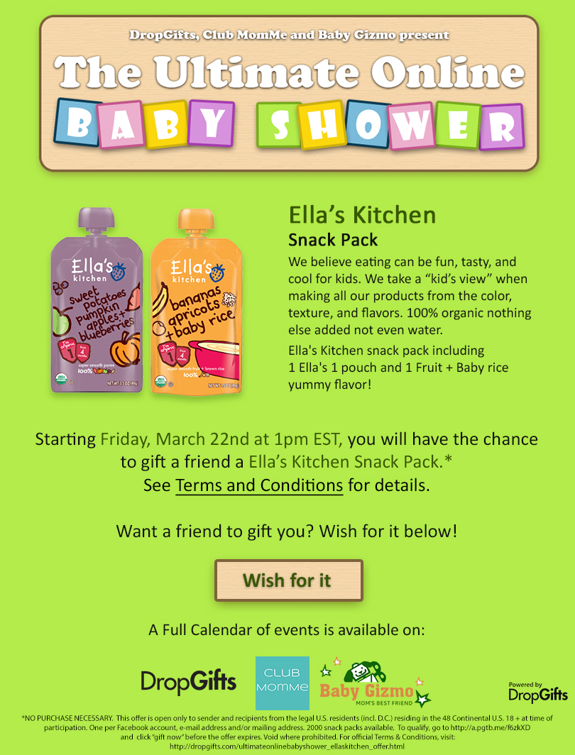 FREE Ella's Kitchen Snack Pa...