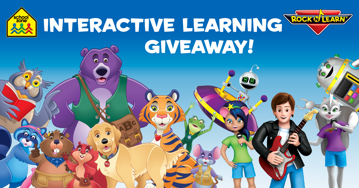 Interactive Learning Giveaway Header Desktop
