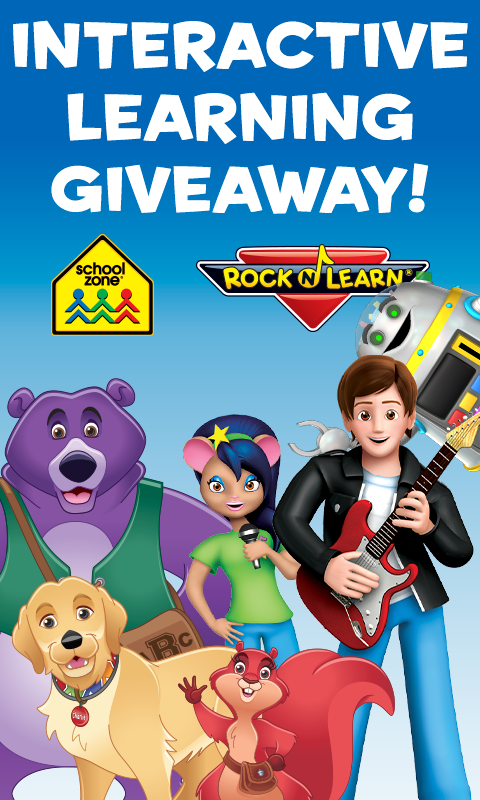 Interactive Learning Giveaway Header Mobile