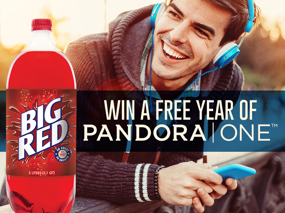 Win a Year Free of Pandora One