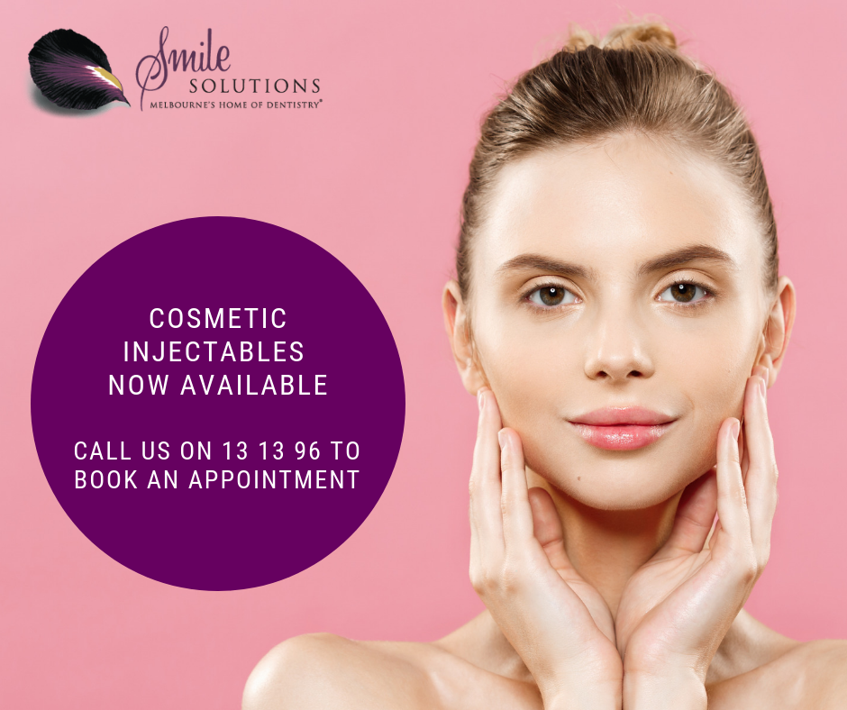 Smile Solutions is now offering Cosmetic Injectables and