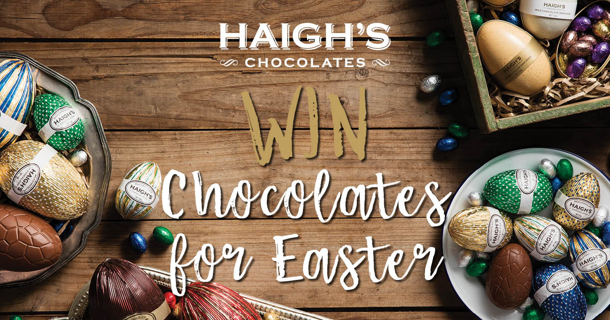 Easter competition haighs chocolates gifts novelty chocolates competition has now closed congratulations to the winners d esbensen vic z sohr nsw g georgoulas nsw winners have been contacted by email negle Gallery