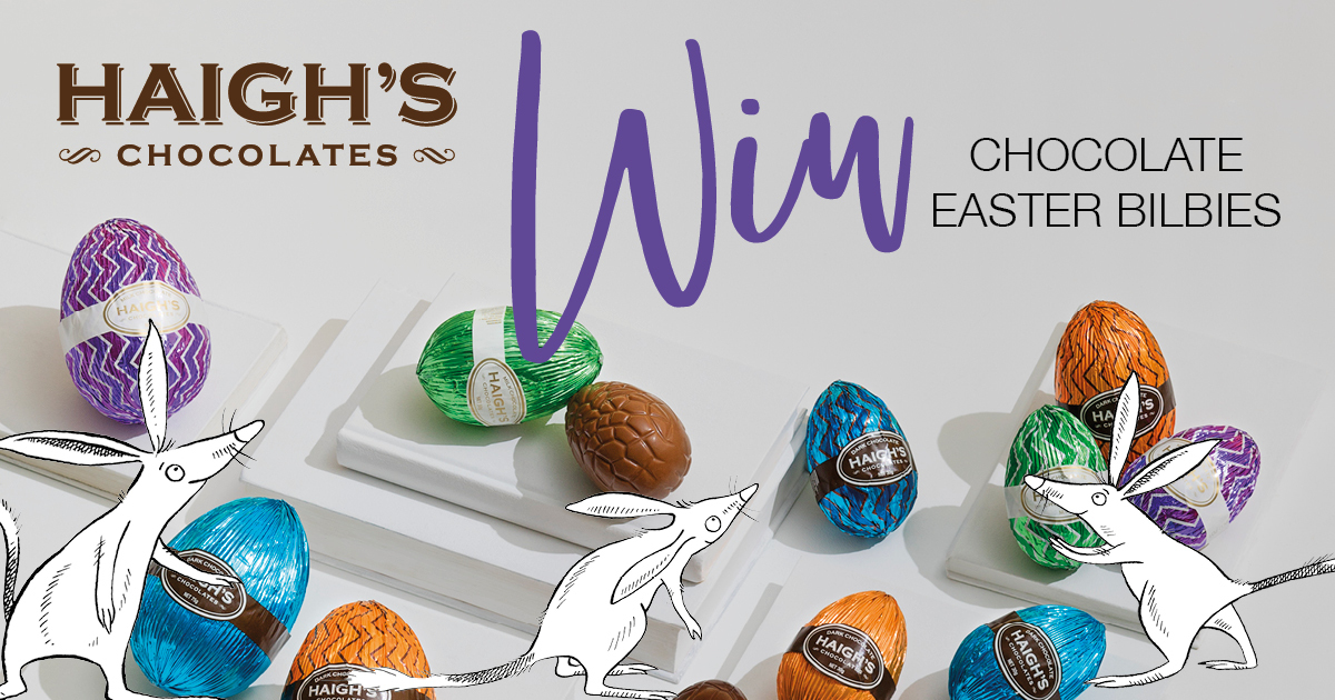 Celebrating 25 years of easter bilby haighs chocolates gifts celebrating 25 years of easter bilby negle Image collections