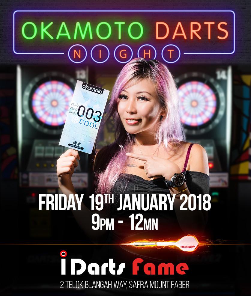 Okamoto Darts Night