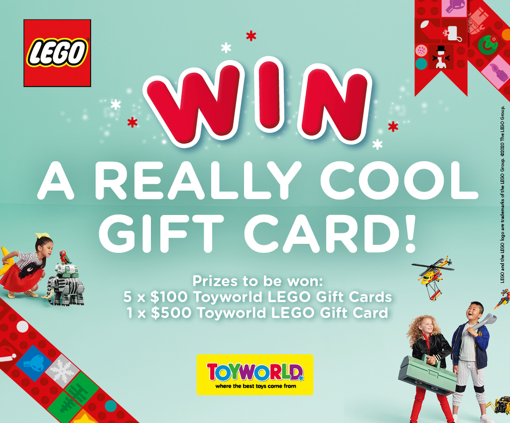 Toyworld | LEGO - Win A Really Cool Gift Card