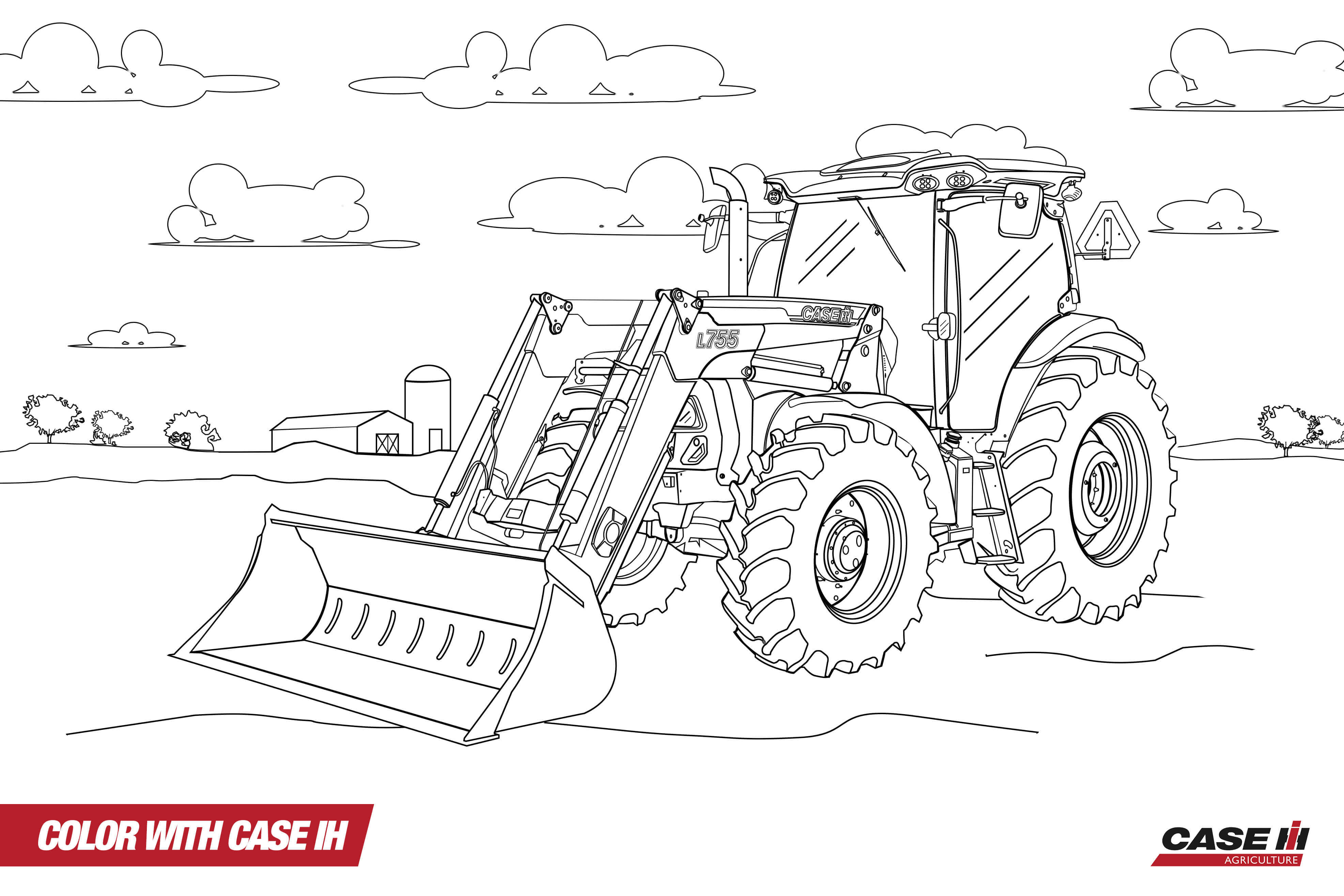 Free Printable Tractor Coloring Pages For Kids | 2631x3945