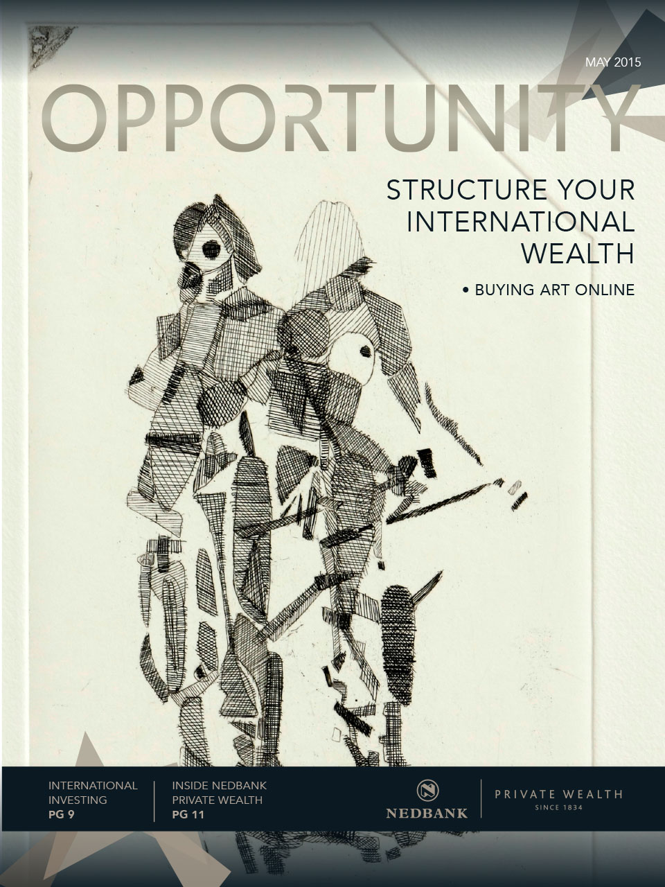 Opportunity Magazine - May edition - Magazine cover