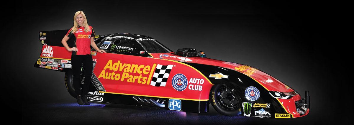 Courtney Force - Advance Auto Parts