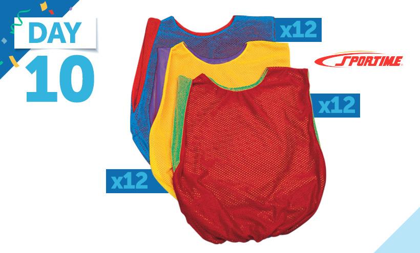 Sportime Scrimmage Vests