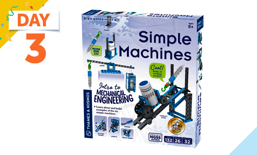 Thames and Kosmos Exploration Series Simple Machines Kit