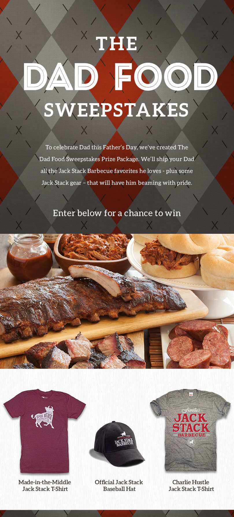 The Dad Food Sweepstakes